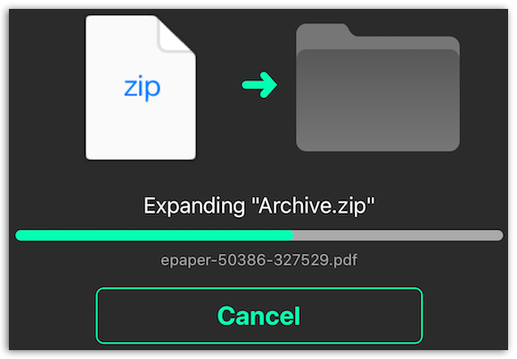 Archive Utility - Expand any archive