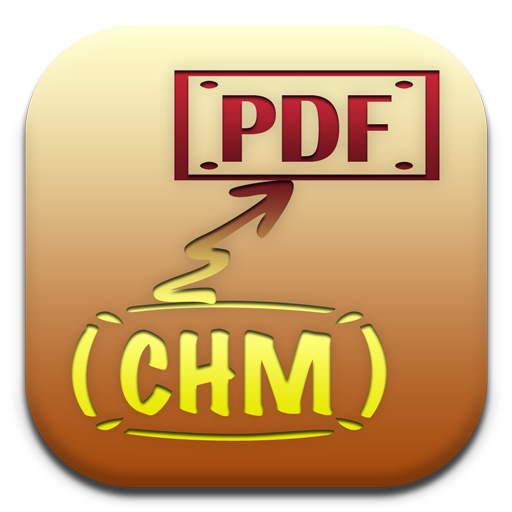 CHM to PDF icon