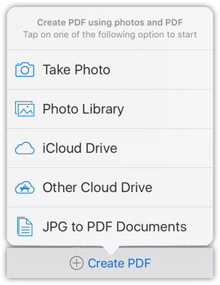 JPG to PDF - create PDF from images and PDF.
