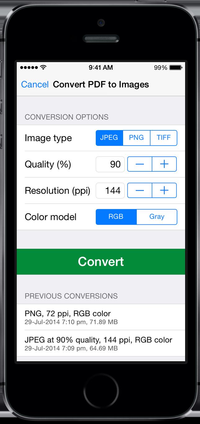 PDF to JPG - PDF to Image converter for Mac, iPhone, iPad