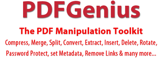 PDFGenius - PDF editor to Merge PDF, Split PDF, Convert PDF