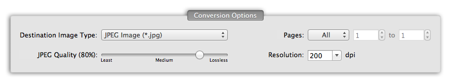 PDF to JPG - Smart PDF to image conversion options