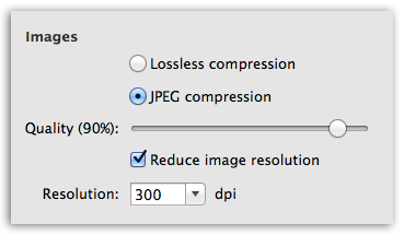 PDFtor-W - Better control over image quality in PDF