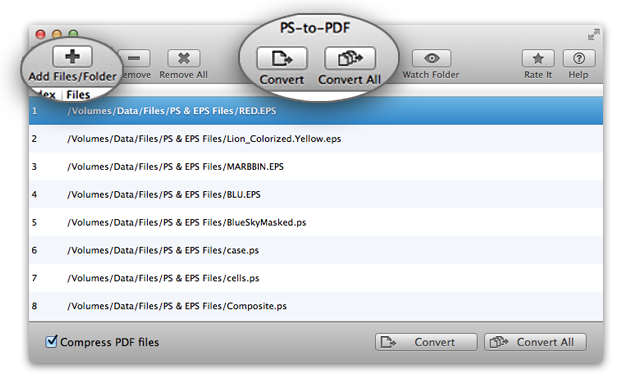 PS-to-PDF - PostScript (.ps, .eps) to PDF conversion in simple steps