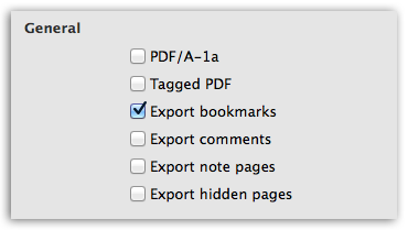 Presentation to PDF - Better control over content in PDF
