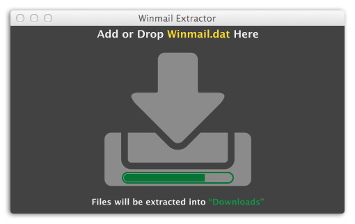 Winmail Reader - Batch extract winmail.dat files